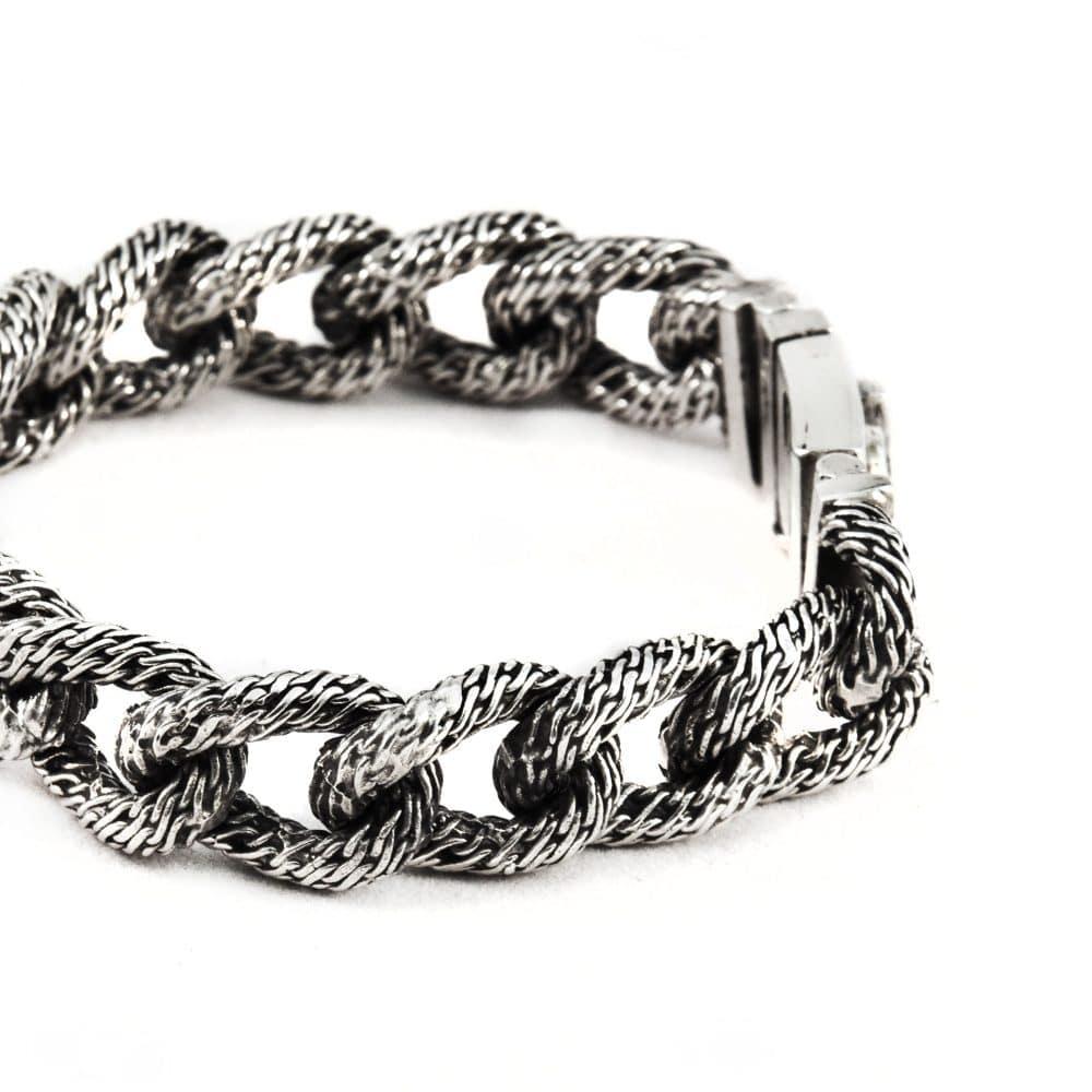 Segoya Semios hoog zilvergehalte armband, handgemaakt in Bali.