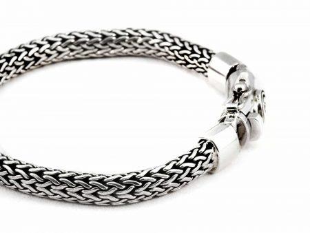 Segoya Wetar hoog zilvergehalte armband, handgemaakt in Bali.