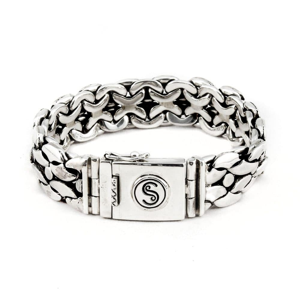 Segoya Froya hoog zilvergehalte armband, handgemaakt in Bali.