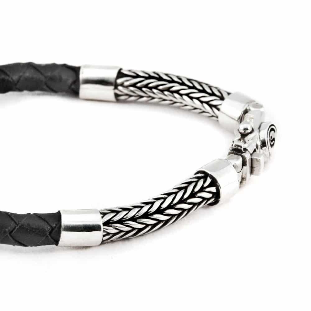 Segoya Rendo hoog zilvergehalte armband, handgemaakt in Bali.