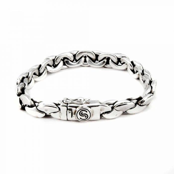 Segoya Gezo hoog zilvergehalte armband, handgemaakt in Bali.