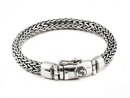 Segoya Wokam hoog zilvergehalte armband, handgemaakt in Bali.