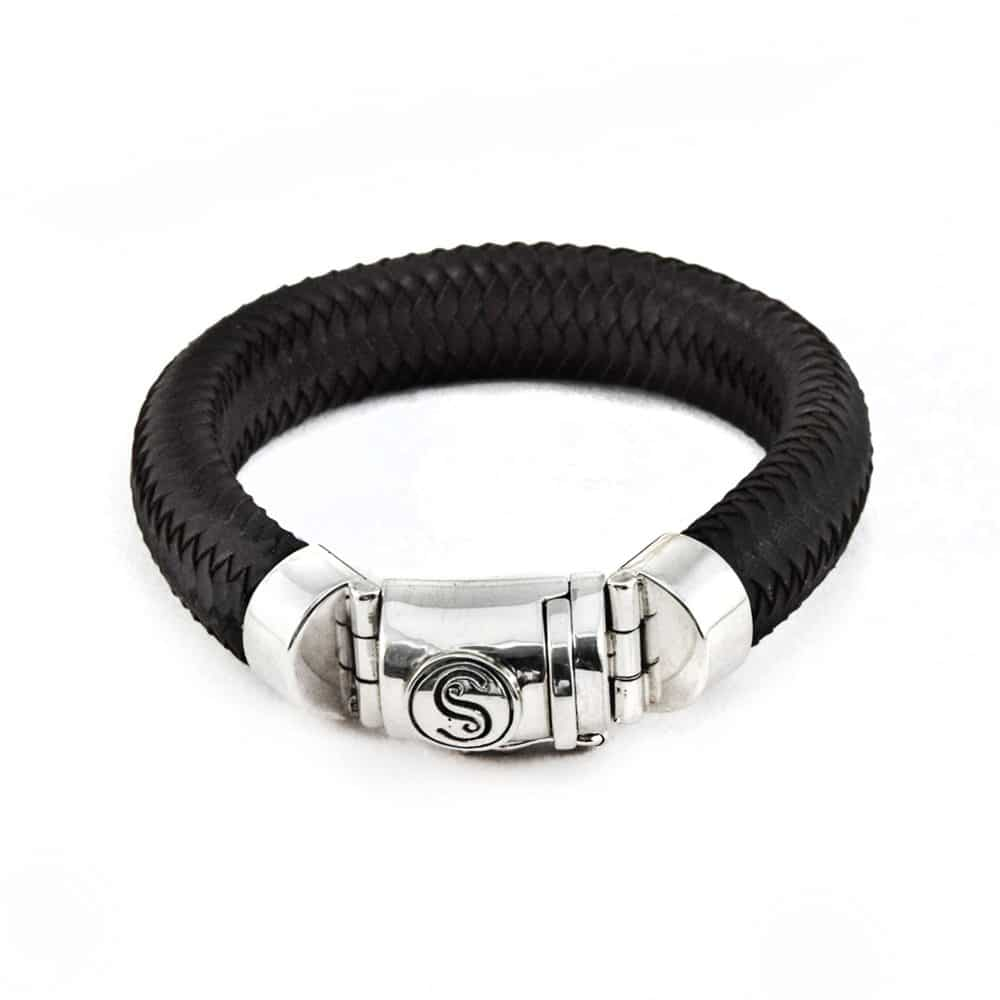 Segoya Buru hoog zilvergehalte armband, handgemaakt in Bali.
