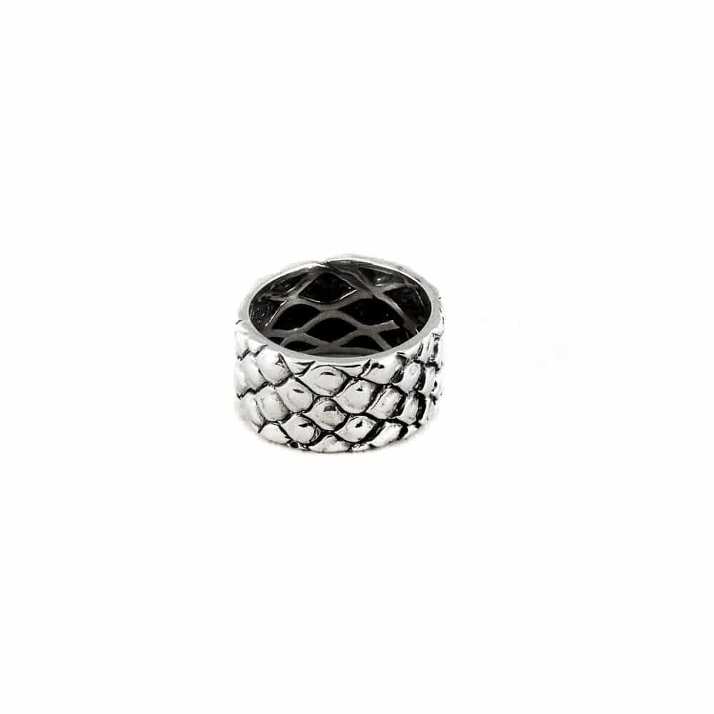 Segoya Mulia hoog gehalte zilveren ring, handgemaakt in Bali.