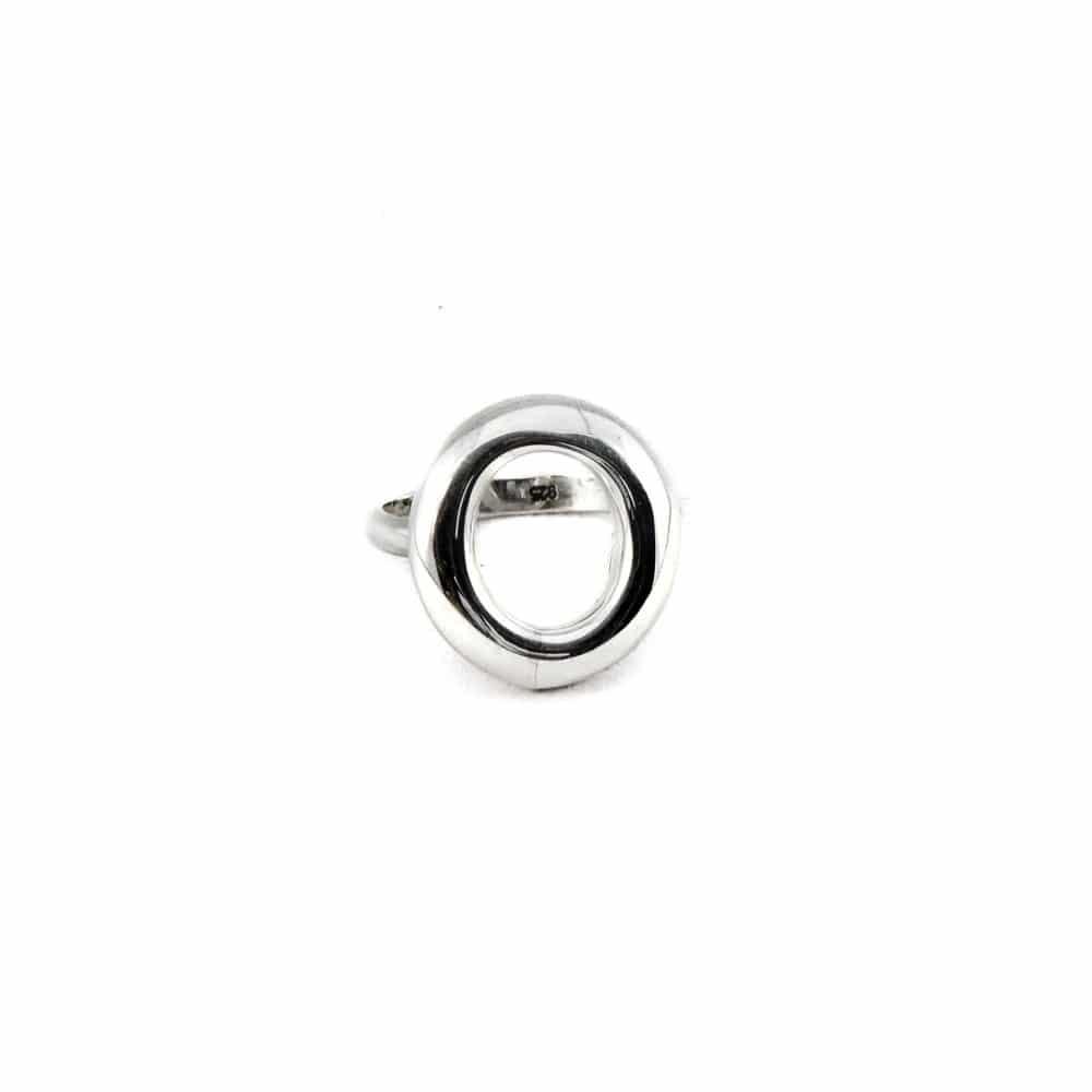 Segoya Samos hoog gehalte zilveren ring, handgemaakt in Bali.